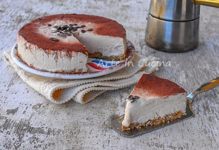 Torta fredda mascarpone e caffè