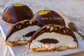 Croccante al cioccolato dolce monoporzione