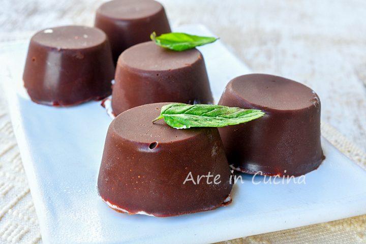 Dolcetti gelato cioccolato e mascarpone veloci