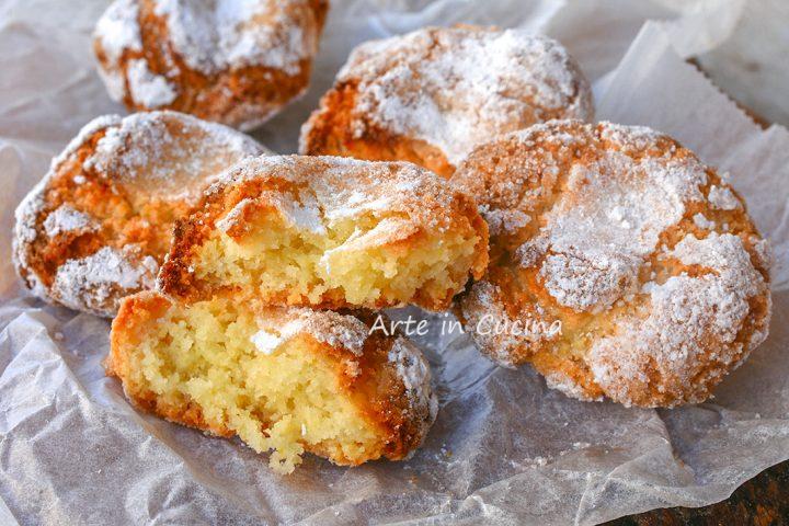 Mandorlette al limone biscotti morbidi veloci