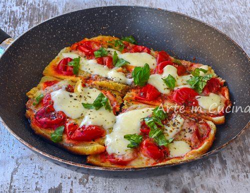 Pizza di pancarrè in padella ricetta furba