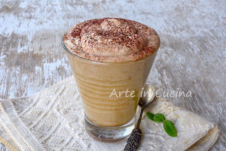 Crema caffè fredda senza panna