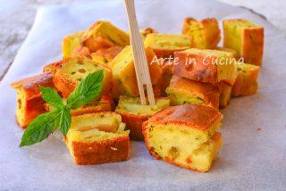 Crostini alle zucchine e parmigiano veloci