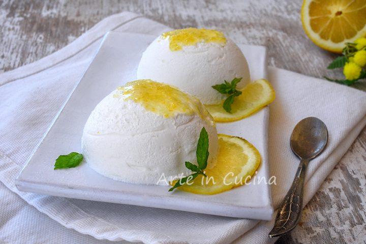 Dolce al limone monoporzione