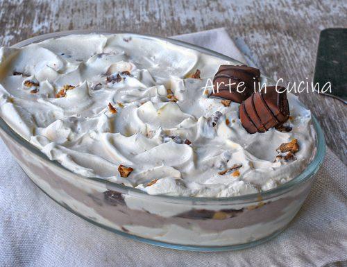 Doppia crema cioccolato panna e kinder bueno