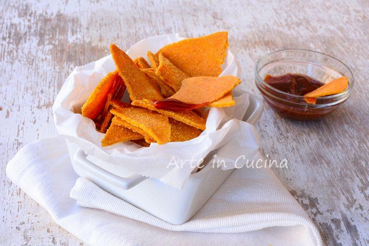 Nachos al forno fatti in casa snack veloce