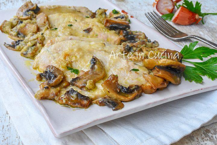 Arista con funghi in padella, secondo semplice e gustoso perfetto per la domenica, ottimo per le feste, ideale per pranzo o cena.