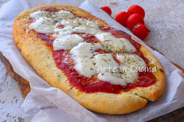 Crostone pizza veloce all'origano