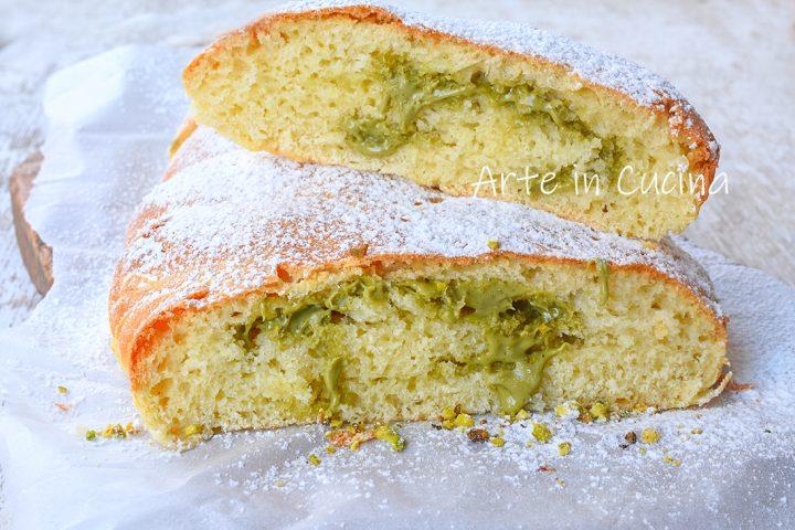 Pan brioche al pistacchio sofficissimo