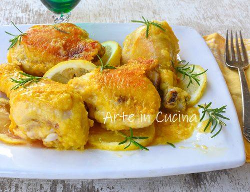 Pollo in padella al limone croccante