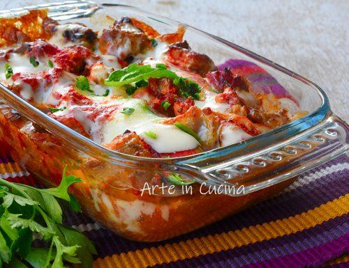 Tortino di zucchine e salsiccia