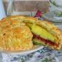 Torta delizia di mandorle siciliana