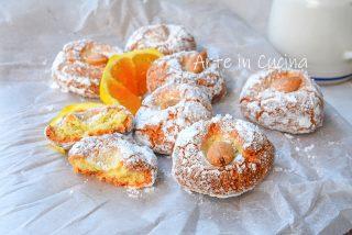 Mandorlette all'arancia amaretti veloci