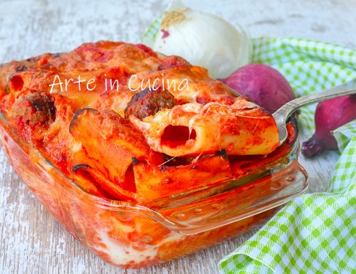 Pasta al forno napoletana
