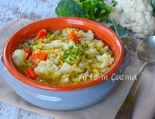 Zuppa contadina con lenticchie