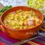 Fagioli con verza zuppa ricetta sarda