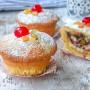 Cassatine al forno dolci siciliani