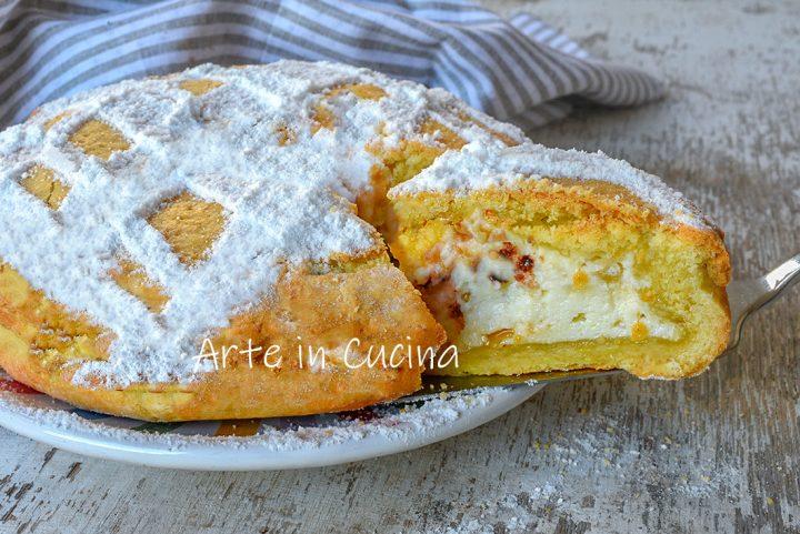 Crostata cassata siciliana al forno