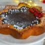 Crostata di pandoro al cioccolato dolce veloce