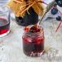 Gelatina di vino fatta in casa con mele