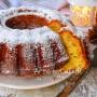 Pan di mandarino ciambella soffice senza burro