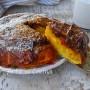 Torta rovesciata crema e cioccolato
