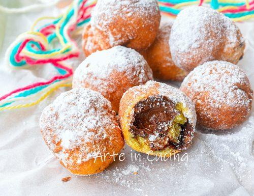 Castagnole alla nutella dolci di Carnevale
