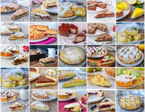 Crostate per colazione o merenda ricette facili