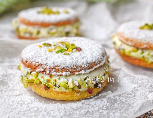 Deliziose al pistacchio dolci napoletani