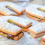 Biscotti ferro di cavallo alla nutella