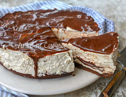 Cheesecake del nonno caffè e nutella