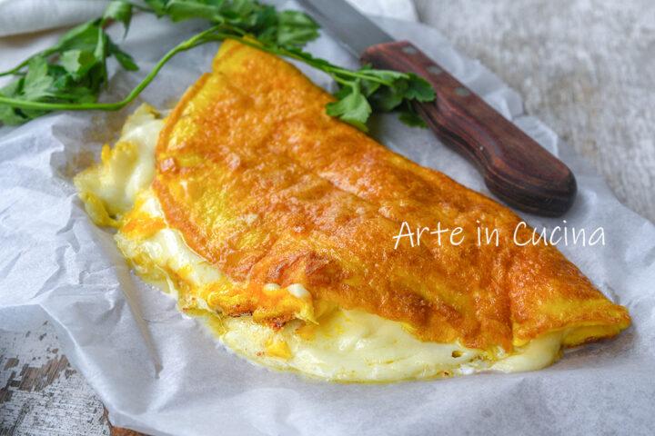 Filoscio napoletano di mozzarella e uova