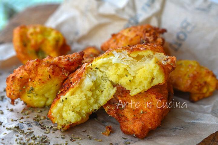 Frittelle di patate lesse soffici
