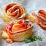 Rose di sfoglia arancia e marmellata