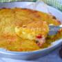 Torta di patate speck e fiordilatte