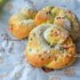 Ciambelle intrecciate con nutella per Pasqua