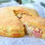Crostata ricotta e salumi napoletana pizza chiena