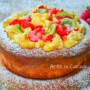 Pan di spagna crema e frutta