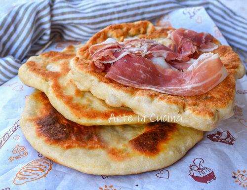 Piadina fritta romagnola pizza veloce