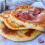 Piadina fritta romagnola