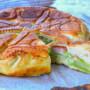 Pizza rustica broccoli e cavolfiori