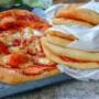 Pizza a portafoglio a libretto napoletana