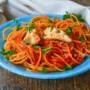 Spaghetti al coccio primo di pesce