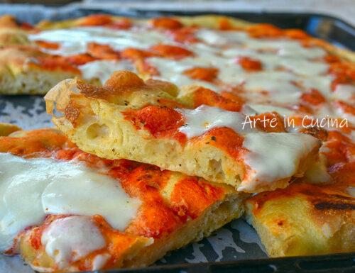 Pizza impasto Bonci a lievitazione lenta
