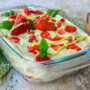 Tiramisù pistacchio e fragole