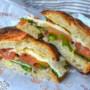 Zingara ischitana crostone di pane napoletano