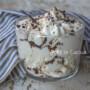 Mousse al cocco e cioccolato veloce