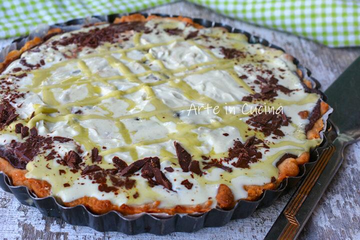 Crostata cioccolato e pistacchio