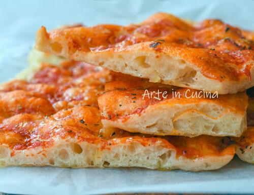 Impasto pizza a lievitazione lenta