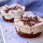 Mini cheesecake cioccolato e cocco